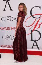 KARLIE KLOSS at CFDA Fashion Awards 2015 in New York