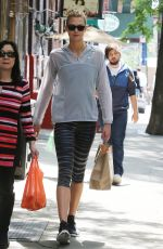 KARLIE KLOSS in Leggings Out and About in New York 06/03/2015