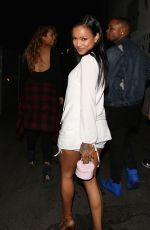 KARREUCHE TRAN Arrives at Playhouse Night Club in Los Angeles 06/04/2015