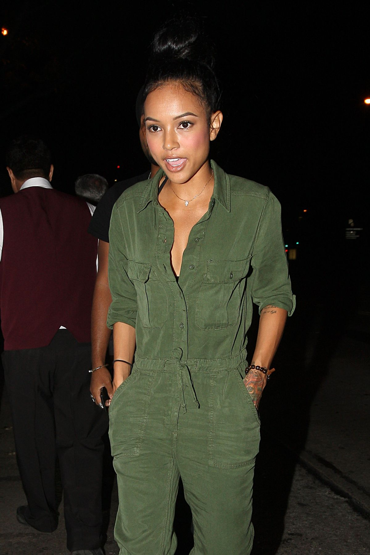 KARREUCHE TRAN Night Out in Los Angeles 06/22/2015