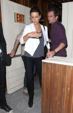 KATE BECKINSALE at Nice Guy in West Hollywood 06/11/2015