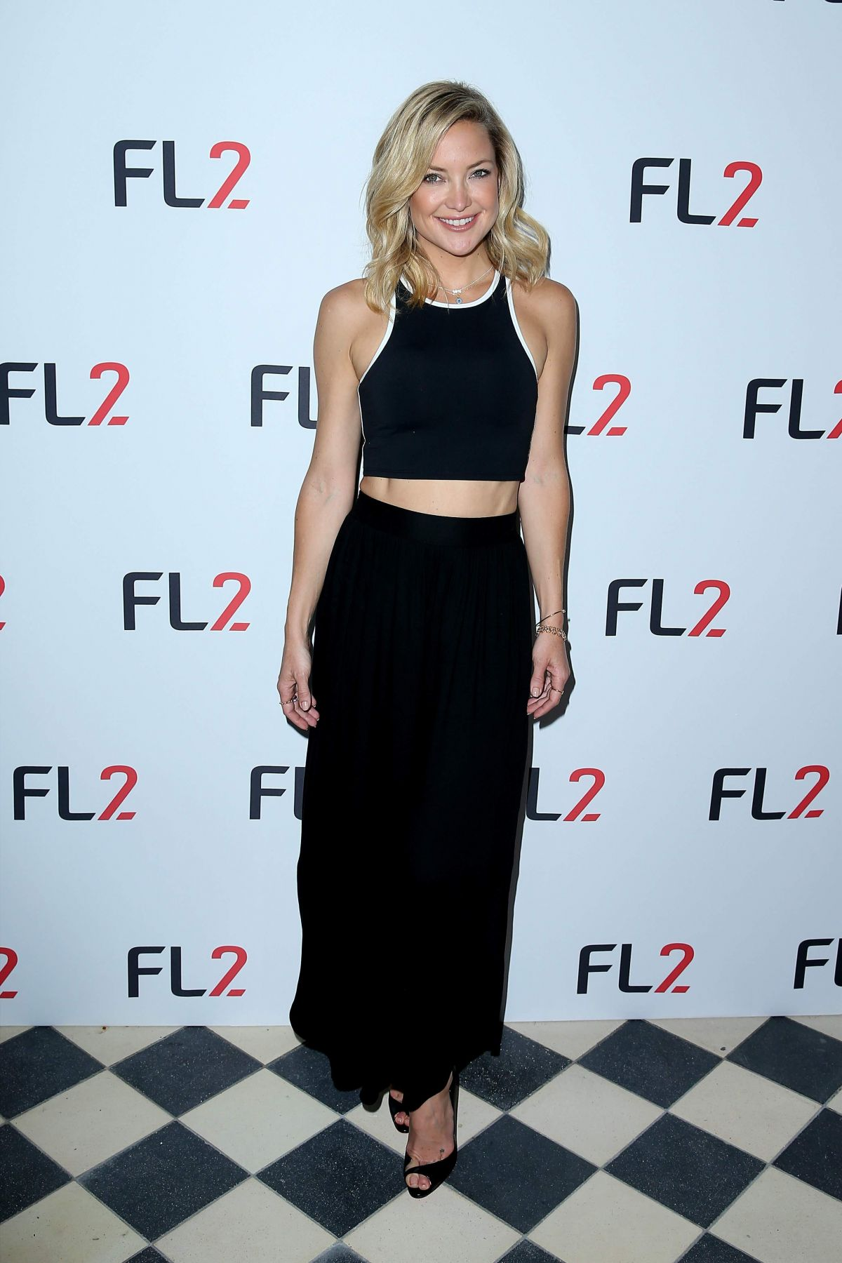 KATE HUDSON at FL2 Mens Active Wear Collection Launch in ...