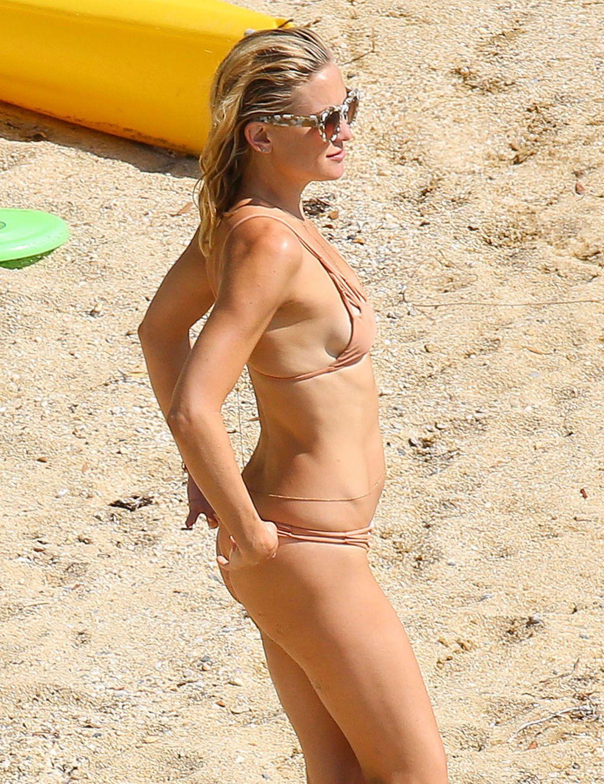 KATE HUDSON in Bikini on Vacation in Greece 06/16/2015