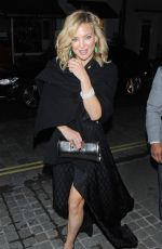 KATE HUDSON Night Out in London 06/01/2015