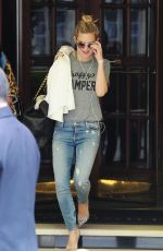 KATE HUDSON Out and About in London 06/03/2015