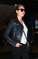 KATE UPTON at Los Angeles International Airport 06/15/2015