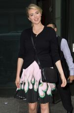 KATE UPTON Leaves Her Hotel in New York