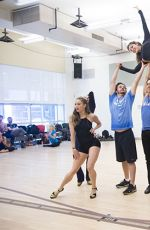 KATHARINE MCPHEE at Bombshell Rehearsal in New York 06/05/2015