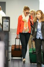 KATHERINE HEIGL at LAX Airport in Los Angeles 06/24/2015