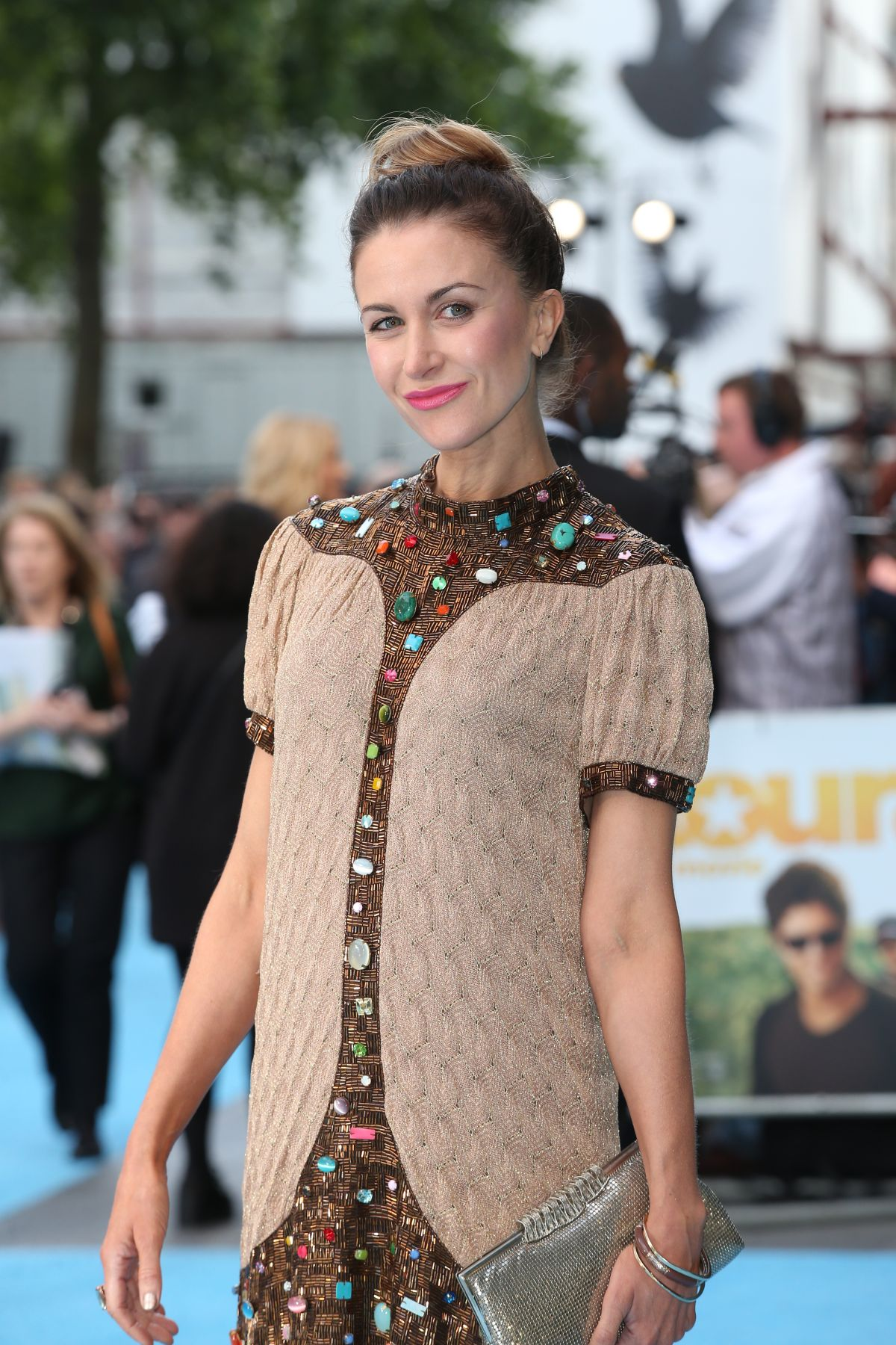 KATHERINE KELLY at Entourage Premiere in London