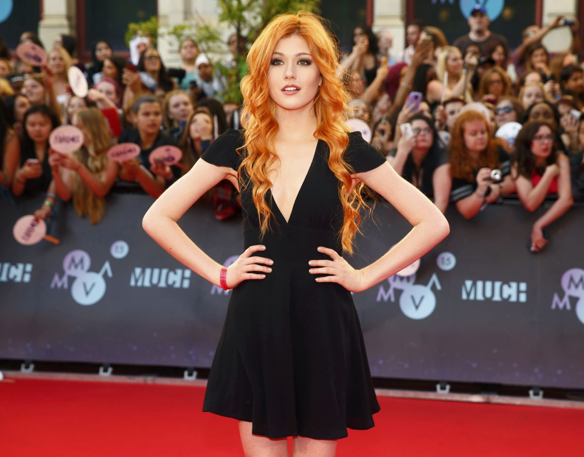 KATHERINE MCNAMARA at 2015 MuchMusic Video Awards in Toronto