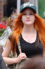 KATHERINE MCNAMARA Out and About in Toronto 05/30/2015