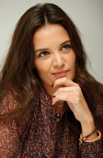 KATIE HOLMES at a Press Conference at Four Seasons Hotel in Beverly Hills 06/09/2015