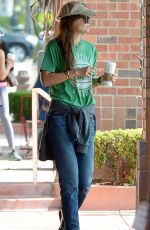 KATIE HOLMES Out for Coffee in Los Angeles 06/10/2015