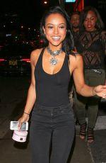 KATTEUCHE TRAN at 1Oak Nightclub in Los Angeles 06/09/2015