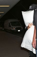 KATY PERRY and Her Pillow at LAX Airport in Los Angeles