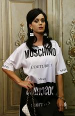 KATY PERRY at Moschino Fashion Show in Florence