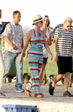 KATY PERRY in Jumpsuit Out in Greece 06/17/2015