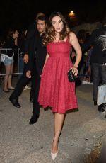 KELLY BROOK at 61st Taormina Film Fest in Taormina