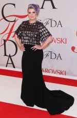 KELLY OSBOURNE at CFDA Fashion Awards 2015 in New York