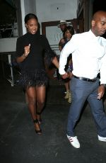 KELLY ROWLAND Leaves Madeos Restaurant in Los Angeles 06/28/2015