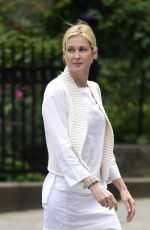 KELLY RUTHERFORD Out and About in New York 06/29/2015