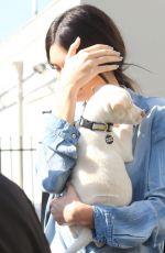KENDALL JENNER Adopting a Dog at Bark N