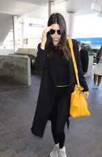 KENDALL JENNER Arrives at LAX Airport in Los Angeles 06/25/2015