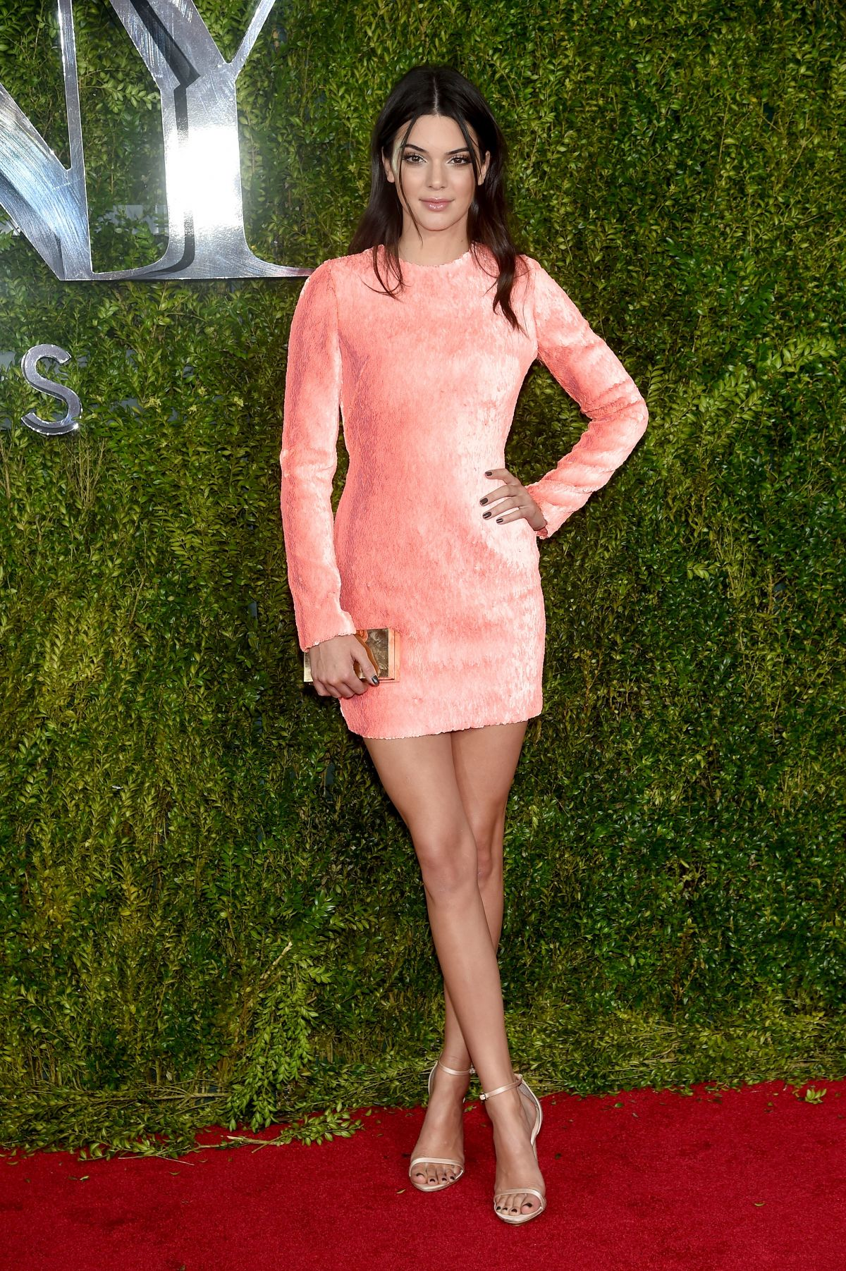 KENDALL JENNER at 2015 Tony Awards in New York