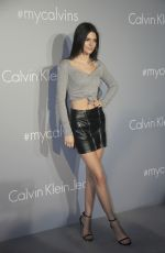 KENDALL JENNER at Calvin Klein Event in Hong Kong 06/11/2015