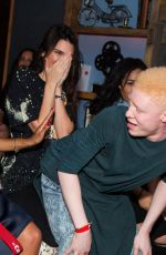 KENDALL JENNER at Justine Skye Emotionally Unavailable Album Release Party in West Hollywood