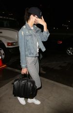 KENDALL JENNER at LAX Airport in Los Angeles 06/03/2015