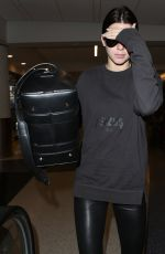 KENDALL JENNER at LAX Airport in Los Angeles 06/15/2015