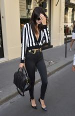 KENDALL JENNER Leaves a Chanel Store in Paris 06/26/2015