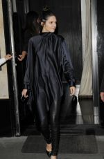 KENDALL JENNER Leaves Kinu Restaurant in Paris 06/26/2015