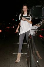 KENDALL JENNER Night Out in Beverly Hills 06/21/2015