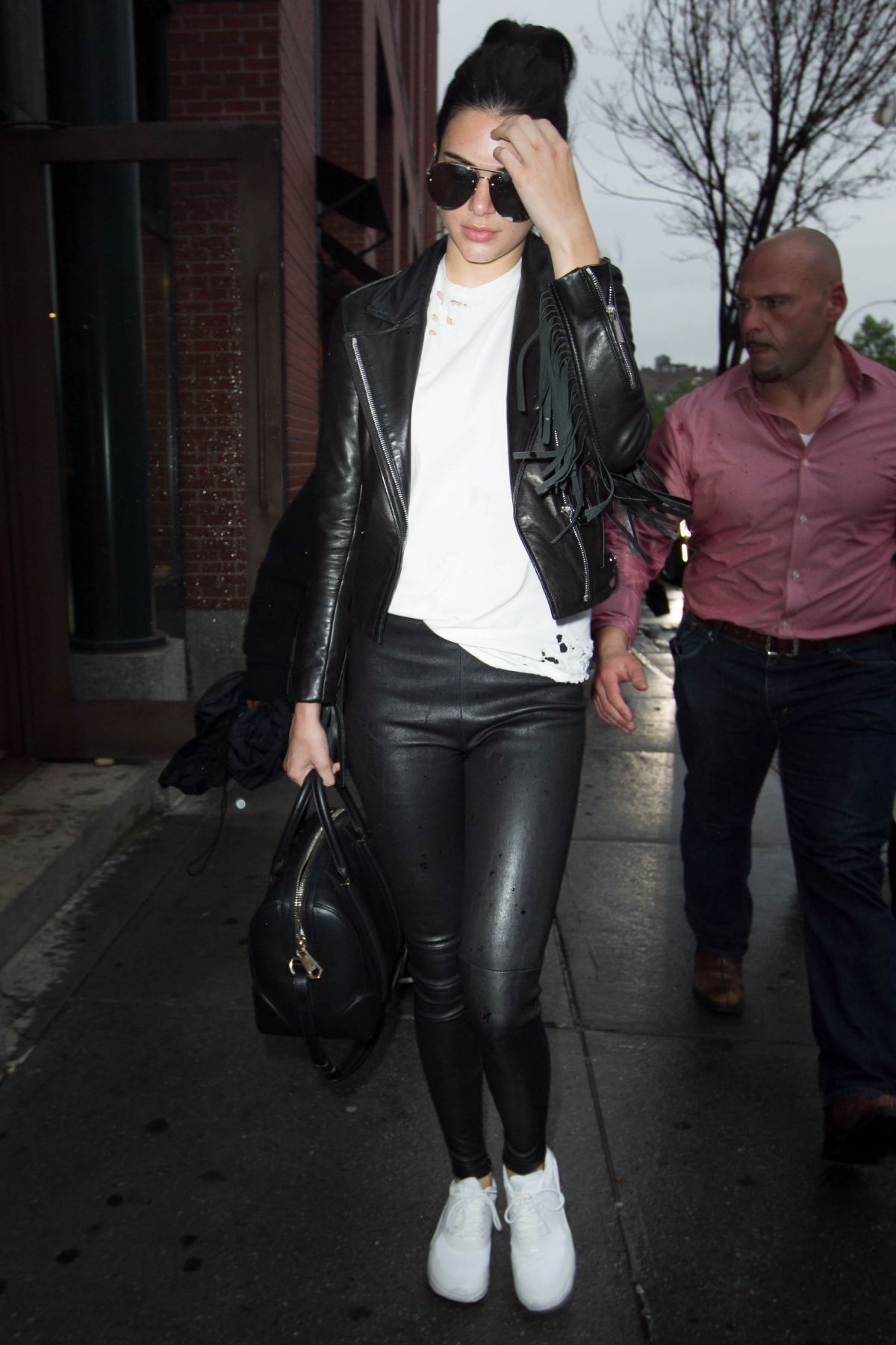 KENDALL JENNER Out and About in New York 06/01/2015