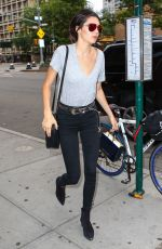 KENDALL JENNER Out and About in New York 06/18/2015