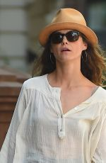 KERI RUSSELL Out and About in Brooklyn 06/22/2015