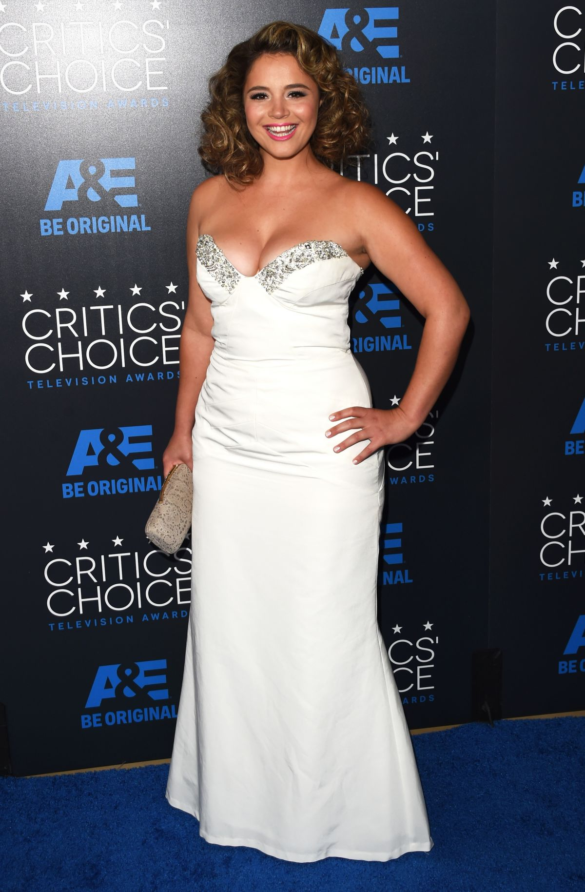 KETHER DONOHUE at 5th Annual Critics Choice Television Awards in Beverly Hills
