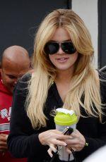 KHLOE KARDASHIAN Leaves a Hair Salon in Beverly Hills 06/04/2015