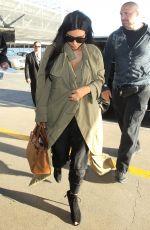 KIM KARDASHIAN Arrives at LAX Airport in Los Angeles 06/22/2015