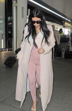 KIM KARDASHIAN at Heathrow Airport in London 06/29/2015