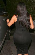 KIM KARDASHIAN Leaves Dior in Beverly Hills 06/19/2015