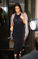 KIM KARDASHIAN Leaves Her Hotel in London 06/27/2015