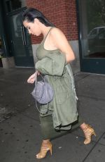 KIM KARDASHIAN Out and About in New York 06/02/2015