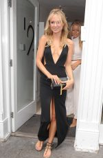 KIMBERLEY GARNER Arrives at a Fashion Show in London 06/12/2015