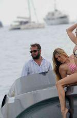 KIMBERLEY GARNER in Bikini on a Boat in Cannes 05/25/2015