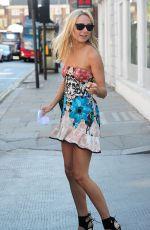 KIMBERLEY GARNER Leaves Bluebird Restaurant in Chelsea 06/11/2015