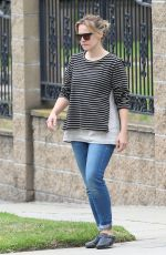 KRISTEN BELL Out and About in Los Angeles 06/05/2015